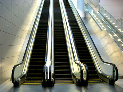 escalator, accident, accidents, injury, injuries, Las Vegas, head, pulled muscle